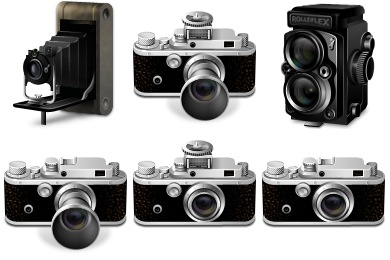 Iconset: Classic Cameras Icons by iconcubic