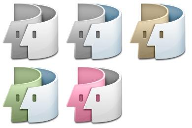 Free Iconset: Swirl Finder Icons by kjherstin