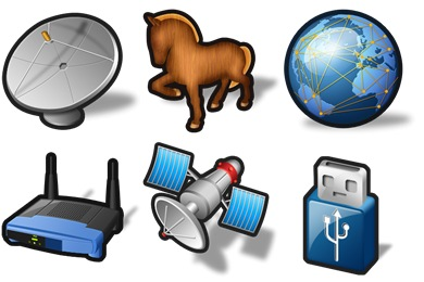 Free Iconset: Stroke Networking Icons by Iconshock