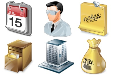 Free Iconset: Real Vista Project Management Icons by Iconshock
