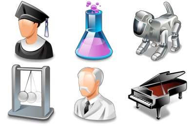 Free Iconset: Real Vista Education Icons by Iconshock