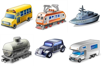 Free Iconset: Real Vista Transportation Icons by Iconshock