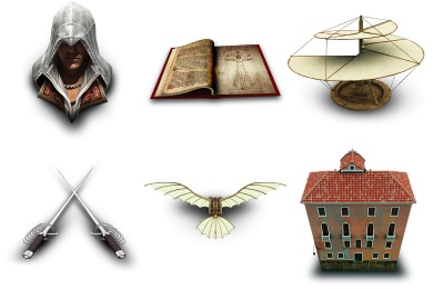 Free Iconset: Assassins Creed II Icons by Archigraphs
