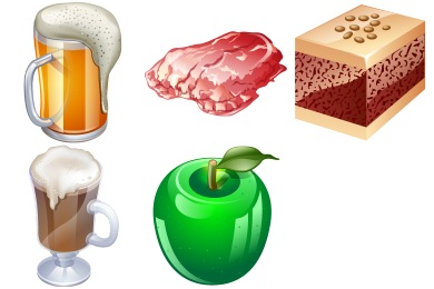 Iconset: Real Vista Food Icons by Iconshock