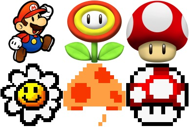 Free Iconset: Super Mario Icons by Sandro Pereira