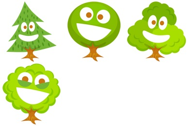 Free Iconset: Happy Trees Icons by Fast Icon Design