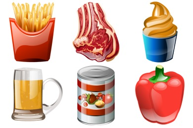 Iconset: Brilliant Food Icons by Iconshock