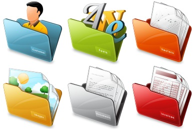 Free Iconset: Free Folder Icons by Iconshock