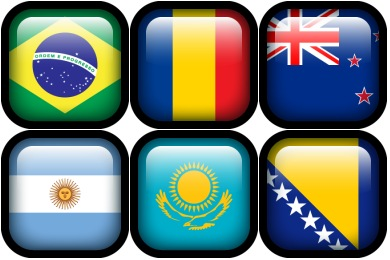Free Iconset: Flag Icons by Hopstarter