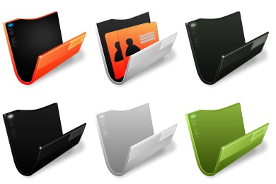 Free Iconset: Cryonic Folder Icons by Exhumed