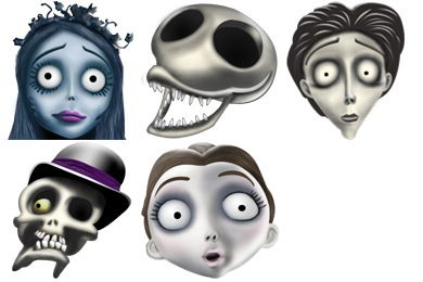 Free Iconset: Corpse Bride Icons by Diego Felipe Moreno