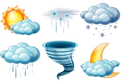 Free Iconset: Large Weather Icons by Aha-Soft Team