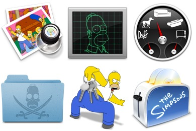 Free Iconset: Simpsons 3 Icons by Gordon Irving