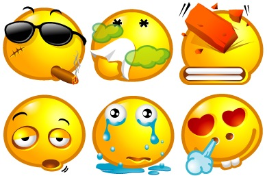 Free Iconset: Popo Emotions Icons by Rokey
