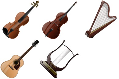 Free Iconset: Stringed Instruments Icons by Iconshock