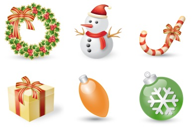Iconset: Xmas Festival Icons by Double-J Design