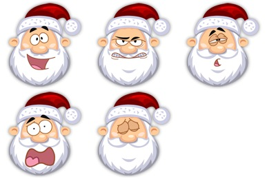 Free Iconset: Santa Claus Icons by Fast Icon Design