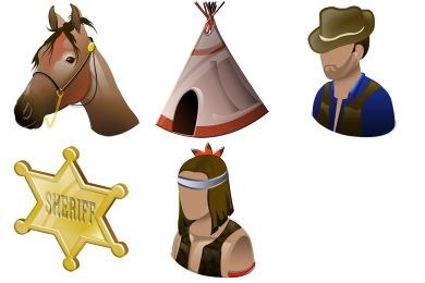 Free Iconset: Wild West Icons by Iconshock