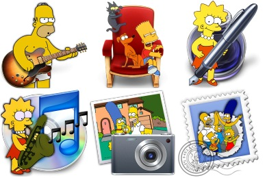Free Iconset: Simpsons Icons by Gordon Irving
