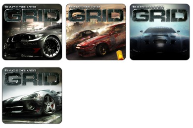 Free Icons: Iconset: Race Driver Grid Icons by Th3 ProphetMan | Games