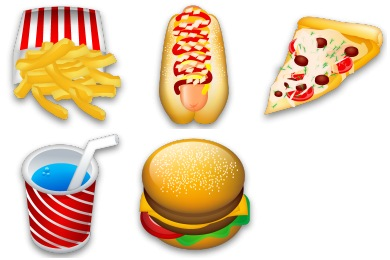 Iconset: Food Icons by Iconshock