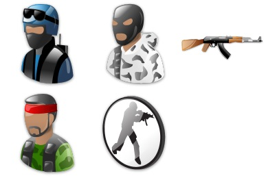 Free Iconset: Counter Strike Icons by Iconshock