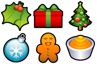 Iconset: Christmas XP Icons by Hopstarter