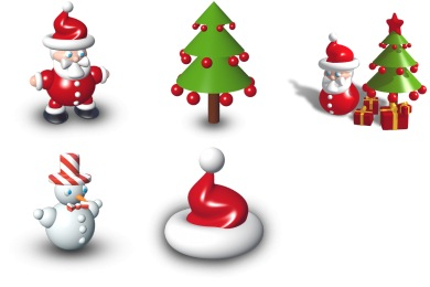 Iconset: Xmas Dock Icons by Archigraphs