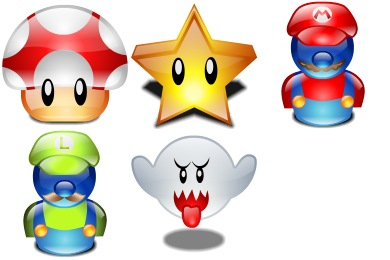Free Iconset: Mario Bros Icons by Iconshock