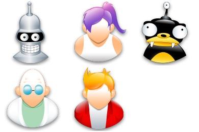 Free Iconset: Futurama Icons by Iconshock