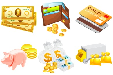 Free Iconset: Money Icons by DaPino