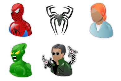 Free Iconset: Spiderman Icons by Iconshock