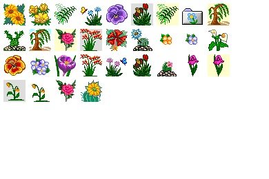 Iconset: Flower 3 Icons by Ilicon