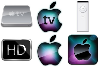 Iconset: Apple TV Icons by Dan Wiersema