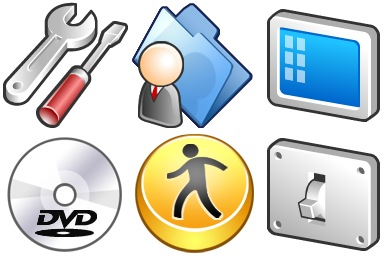 Iconset: Rubber Icons by Nando Design Studio