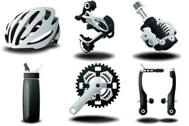 Free Iconset: Mountain Bike Icons by IconTexto