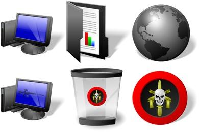 Free Iconset: Elite Desktop Icons by IconTexto