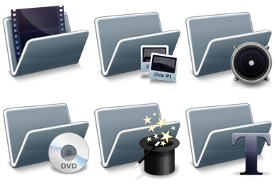 Free Icons: Iconset: Digital Video Techniques Icons by Zyotism | Computers