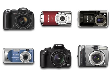 Iconset: Canon Digital Camera Icons by newformula.org
