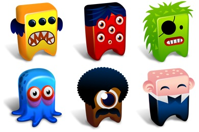 Free Iconset: Creatures Icons by Fast Icon Design