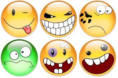 Free Iconset: Aqua Smiles Icons by Flameia Design