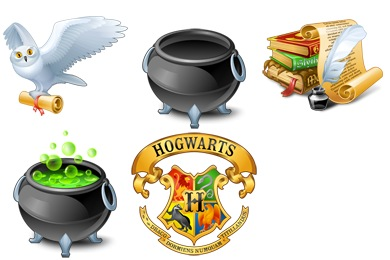 Free Iconset: Harry Potter Icons by Artua.com