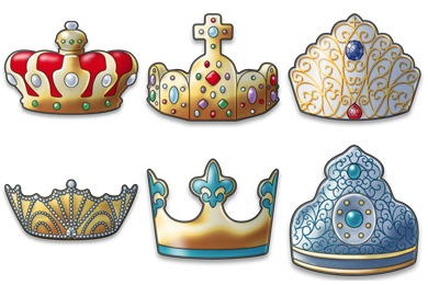 Free Iconset: Crown Icons by FixIcon