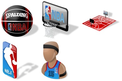 Free Iconset: NBA Icons by Iconshock