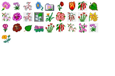 Iconset: Flower 2 Icons by Ilicon