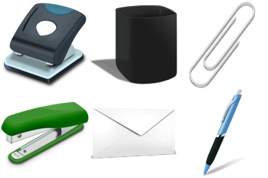 Free Iconset: Office Tools Icons by seifito