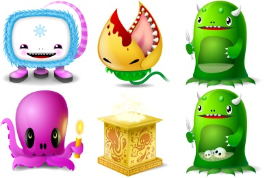 Free Iconset: Monsters Icons by TurboMilk