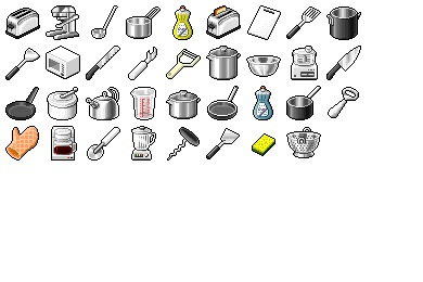 Iconset: Hide's Kitchen 1 Icons by Pixture