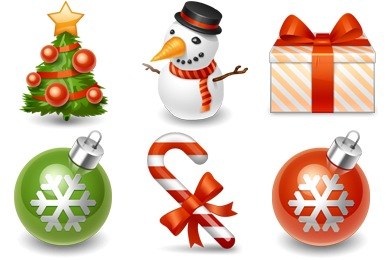 Free Iconset: Winter Holiday Icons by IconDrawer