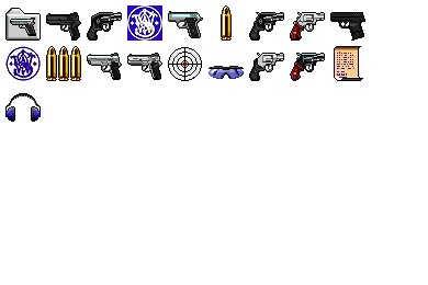 Free Iconset: Smith And Wesson Icons by Calle